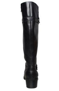 Anne Klein Womens Boots Edith Black Leather Sz 10 M