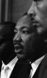 1966 35mm NEG Strip Martin Luther King at City Hall in Chicago 1966