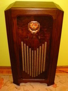 Antique Vintage Tube Radio Console Zenith 5S56