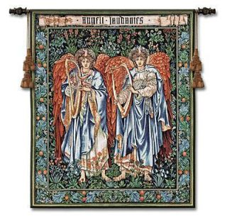 44x53 Angeli Landente Angel Art Tapestry Wall Hanging