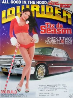Lowrider Magazine 12 06 Angelina Zamora 350 Chrome Out Performance