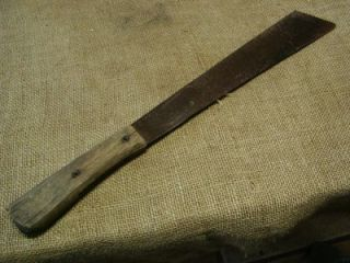 vintage corn knife antique farm tool old scythetools