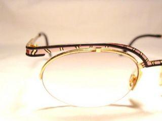 Vitg 80s Cazal 270 Animal Tiger Print Eyeglass Frames