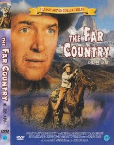 The Far Country 1954 James Stewart DVD