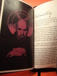 Bound The Satanic Bible by Anton lavey Church of Satan Baphomet