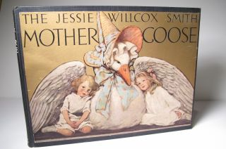 1914 Jessie Willcox Smith Mother GOOSE Near Fine 1st