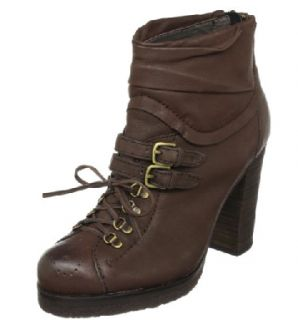 Apepazza Strasburgo Leather Lace Ankle Boots New 10 $189