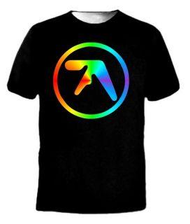 Tie Die Aphex Twin AFX Techno Music Logo Tee T Shirt
