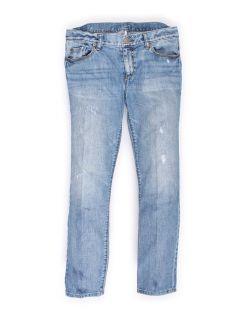 low rise light blue straight leg jeans by ann taylor loft size 6 light
