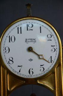 Tiffany Never Wind Antique Torsion Pendulum Clock