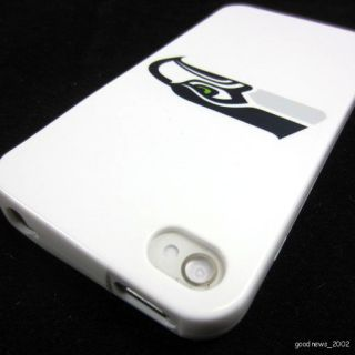 Seahawks Soft Skin Case Cover for Apple iPhone 4 4S 4G Verizon Sprint
