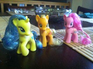 My Lile Pony Apple Jack Pinkie Pie Lemony Gem Lo New G4 Friendship