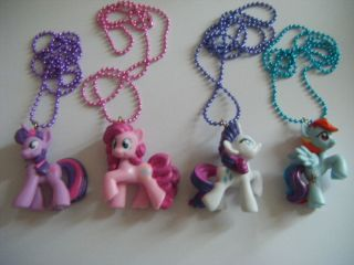 Necklace Rainbow Dash Apple Jack Twilight Fluttershy Rarity