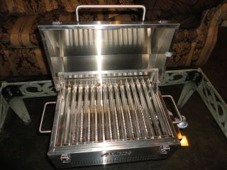 Anywhere Infrared Stainless Steel Portable Propane Grill Bar B Q Grill