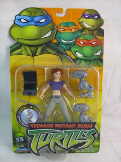 Teenage Mutant Ninja Turtles TMNT April ONeil Figure