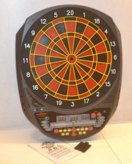 Arachnid Inter Active Electronic Dart Board Game 6000 E520H