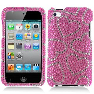 Bling Hard Snap on Cover Case for Apple iPod Touch 4G 4th Gen