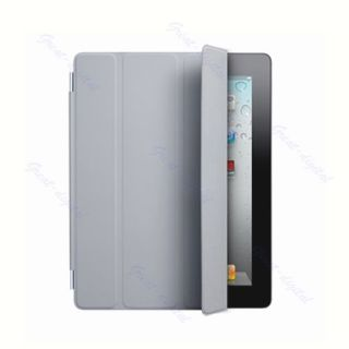 pu leather slim smart cover case stand for apple ipad 2 3rd protector