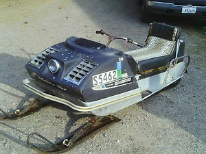 Vintage 1970 Arctic Cat Panther for Parts or Restoration