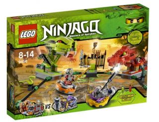 lego ninjago 9456 spinner battle arena new in box