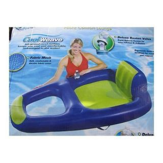 Aqua Leisure Recliner Fabric Comfort Lounge Outdoor Pool Fun Floats