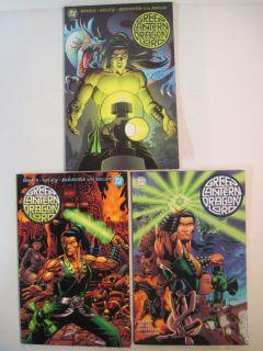 Complete Set Green Lantern Dragon Lord 1 4 NM M DC Limited Series 2001