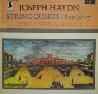 Vinyl LP Box Set)String Quartets op 9 & 17 Argo HDNQ 61/66 UK Ex/Ex