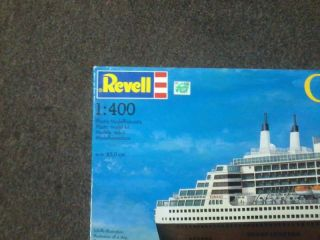 Revell Model Kit 05223 Queen Mary 2 Ocean Liner 1 400 Scale Started as