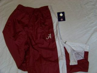 Alabama Crimson Tide Windbreaker Pants Kids 4 5 Small NCAA Logo