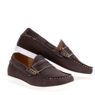 Trendz Arlo Boat Dress Synthetic Dress Slip on Boy Girls Kids Shoes Sz