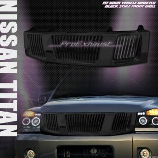 Front Hood Bumper Grill Grille ABS 04 07 Nissan Titan Armada