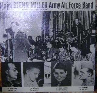 Glenn Miller Army Air Force Band 2 RCA Mono LPS