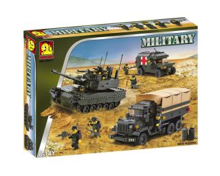 New OM33011 Military Tank Building Block Brick Toy Lego Style