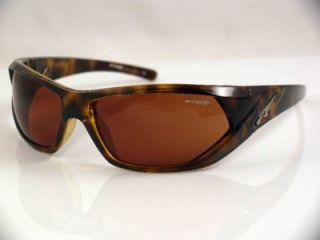 arnette slander unisex sunglasses brown havana new