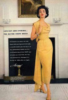 Vtg 1950s Ceil Chapman Hand Beaded Black Suit Marilyn Monroes
