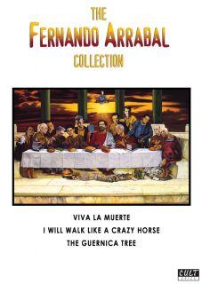 THE FERNANDO ARRABAL COLLECTION 3 Disc DVD Box VIVA LA MUERTE Guernica