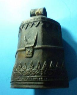 Antique Gorgoues Decorative Art Metal Large Cow Bell