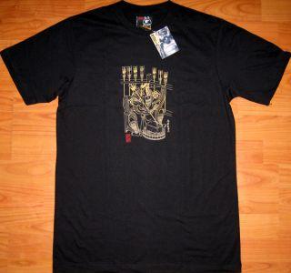 Samurai Archer New Ronin Japan T Shirt XXL Black BNWT