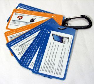 Apple Computer Retailer Reference Pocket Card Set 2007
