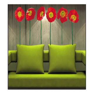 Hibiscus Deco Mural Art Wall Paper Sticker Decal HL905