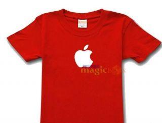 Apple Logo Computer OSX iPhone iPod Geek T Shirt Tee