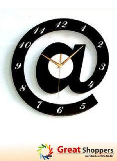 Modern Contemporary Design Home Decoration Art Shape Wall Clock