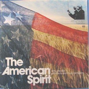 American Spirit Arthur Fiedler Boston Pops ORCH 3 LP