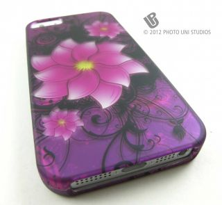 Hard Snap on Case Cover for Apple iPhone 5 Phone Accessory