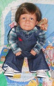 Pat Secrist Doll Apple Valley Mylo 1993 Reborn
