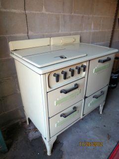 Vintage Art Deco Magic Chef Gas Stove Range Fabulous