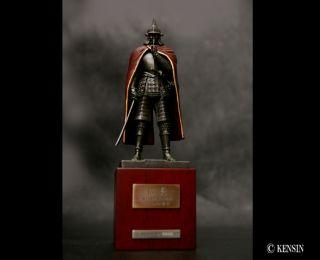 Samurai Historical Figure Statue Oda Nobunaga Artistic Mantle