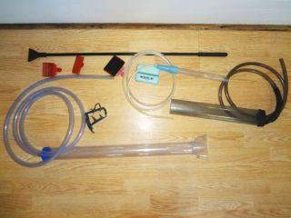 Lot of Aquarium Gravel Sand Cleaning Supplies Vacuum Scraper Mag Float