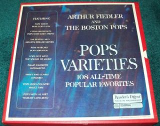 CHECK OUT THIS ARTHUR FIEDLER & THE BOSTON POPS   POPS VARIETIES 9
