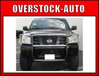 Aries Stainless Steel Grille Guard Kit 2004 2010 Nissan Titan Truck 4X
